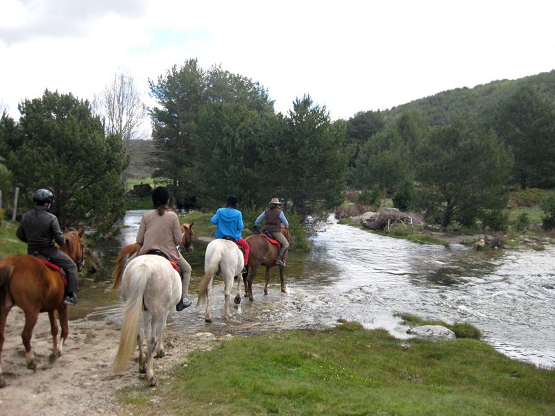 Rutas a caballo por la Sierra de Gredos