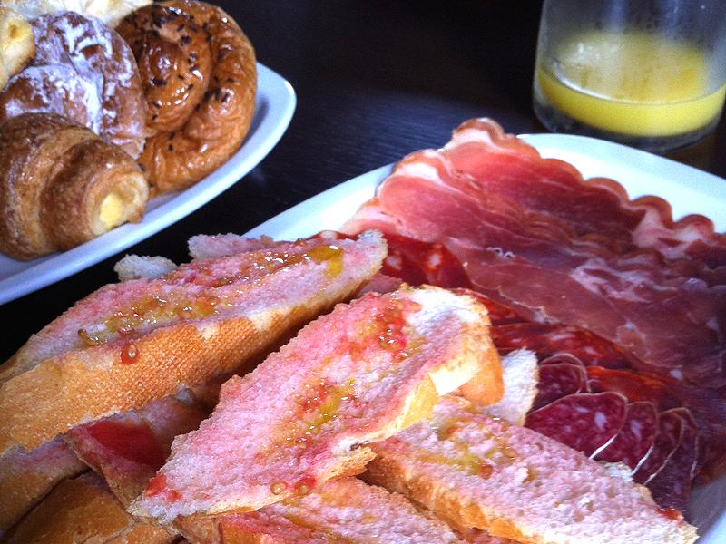 Un buen desayuno para empezar el día