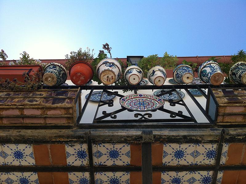 Balcón en el Albaicín de Granada