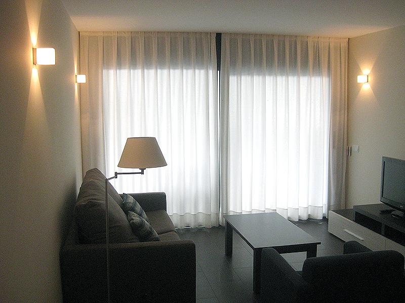 Salón de los apartamentos