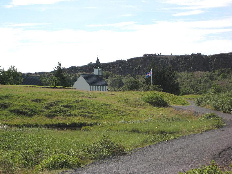 Iglesia en Thingvellir