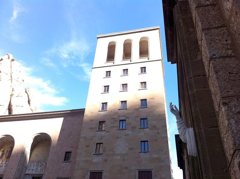 Torre del Monasterio de Montserrart
