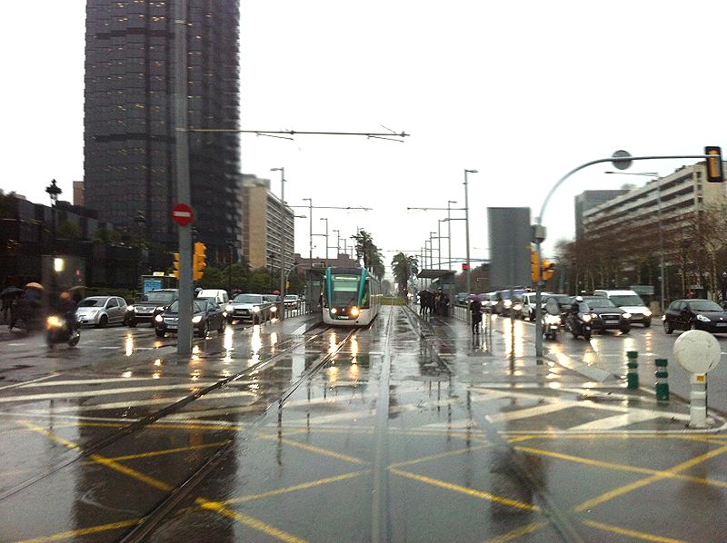 Día lluvioso en marzo