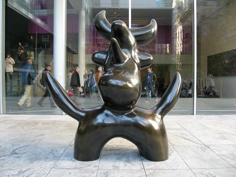 Escultura de Joan Miró en el MoMA de Nueva York