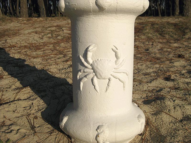 Farolas en Playa de Samil