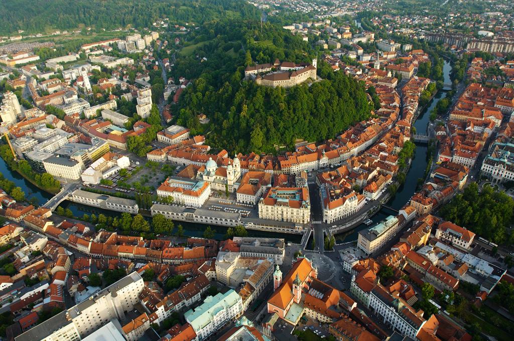 Saboreando Eslovenia, la capital Liubliana