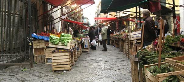 Mercato di Capo, en Palermo