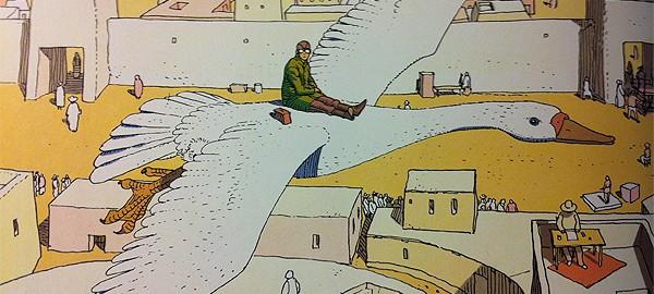 Moebius, Jean Giraud, desierto