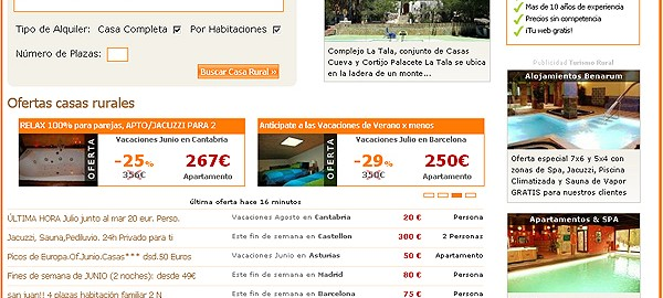 Homepage de Clubrural