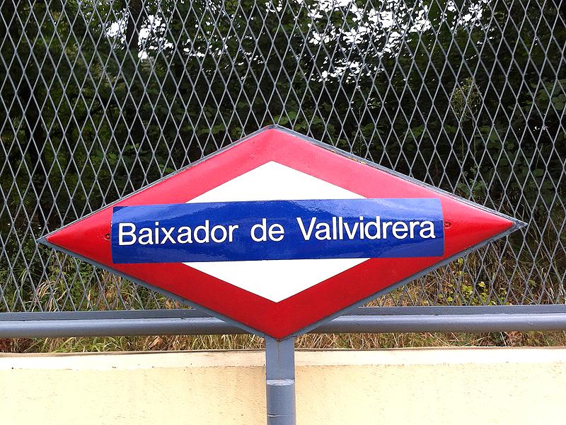 Estación FGC Baixador de Vallvidrera