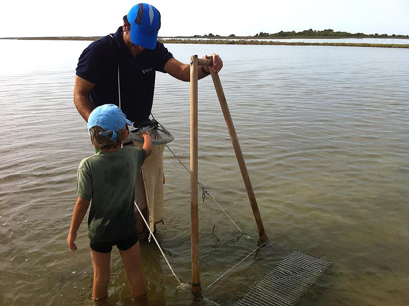 Conoce las técnicas de pesca tradicionales en el Delta del Ebro de la mano de un pescador local