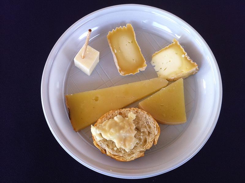 Cata de quesos en Mas Marcè