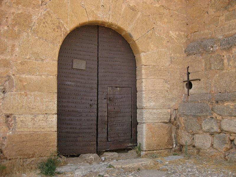 Puerta del Castillo de la Calahorra