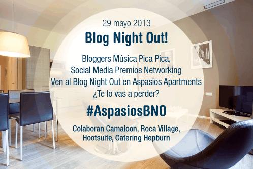 Blog Night Out de Aspasios
