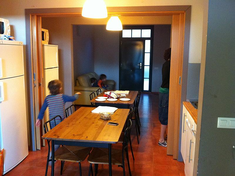 Interior de los apartamentos en Villa Engracia