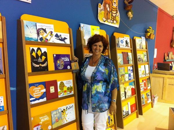 La escritora de cuentos infantiles Susana Peix