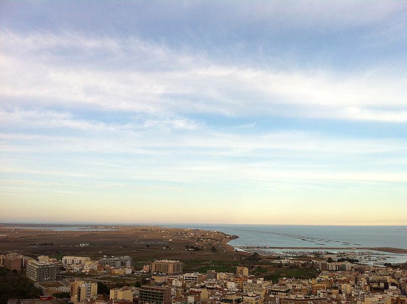 Delta del Ebro desde Sant Carles de la Ràpita