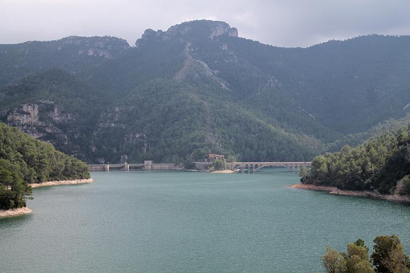 El Pantano de Ulldecona casi lleno del todo
