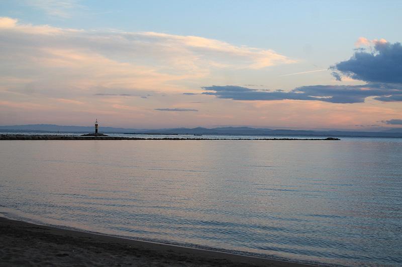 Atardecer en la Bahía de Roses, Costa Brava