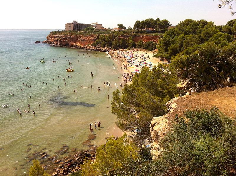 Playa de Cap Roig en l'Ampolla