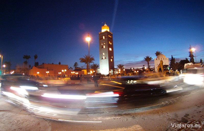 Mezquita de la Koutoubia en Marrakech