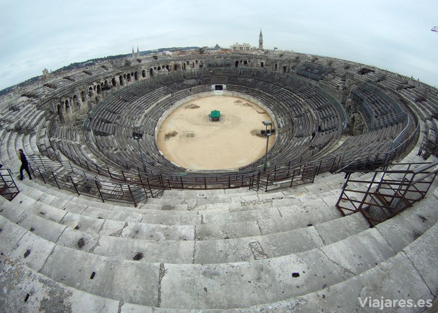 Anfiteatro Les Arénes de Nîmes