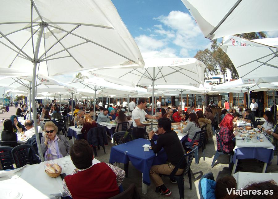 Un auténtico y divertido chiringuito de Málaga