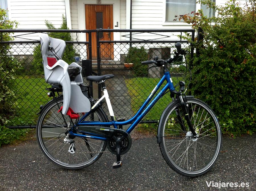 La bicicleta, un medio de transporte muy respetado