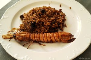 Un excelente arroz con galeras en LB21