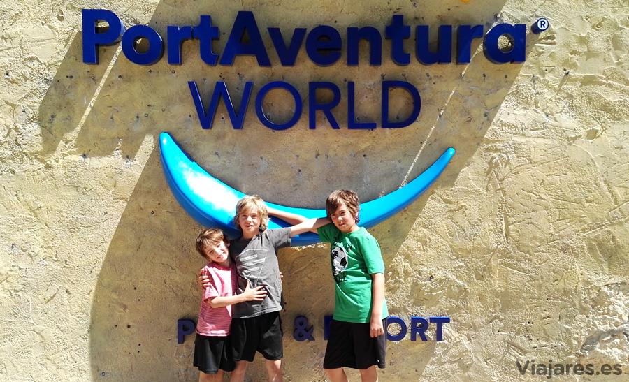 Visitar PortAventura en la Costa Daurada con niños