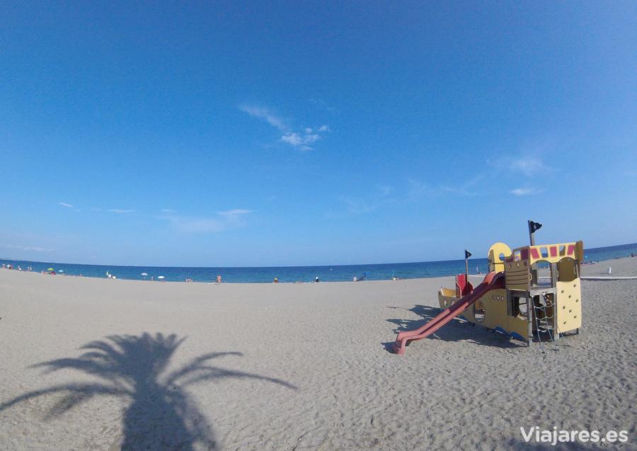 Playa Cristall en Miami Platja - Costa Daurada