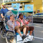 En rickshaw al Oktoberfest