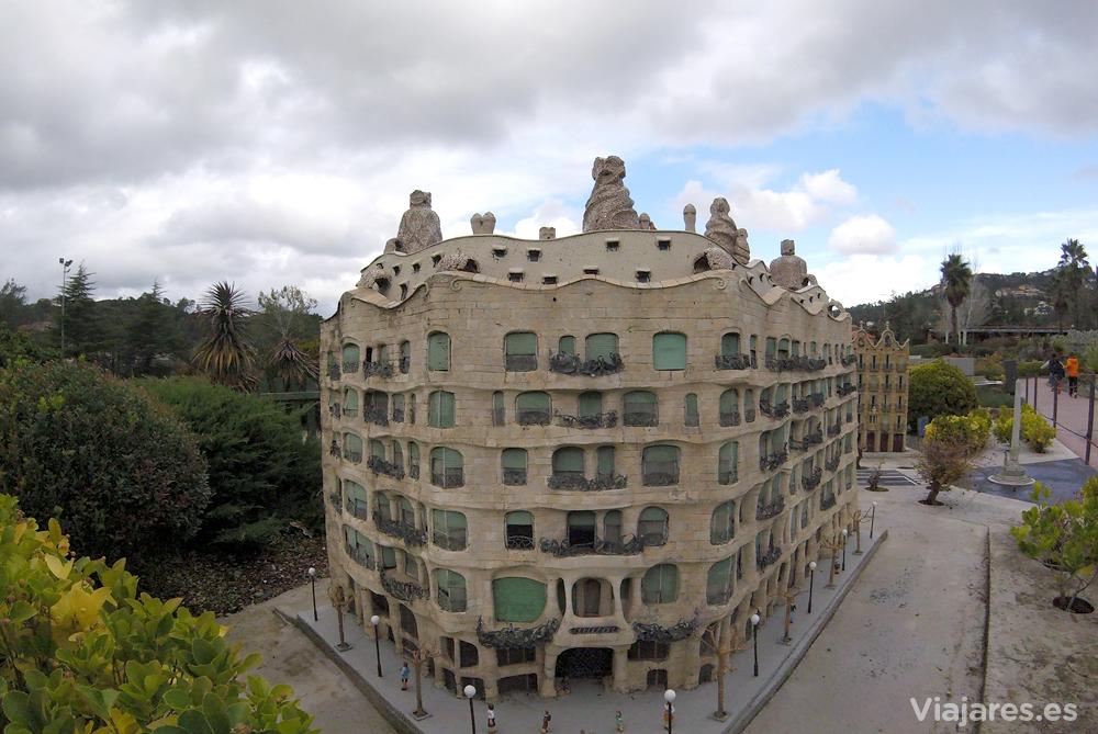 Reproducción de La Pedrera de Gaudí