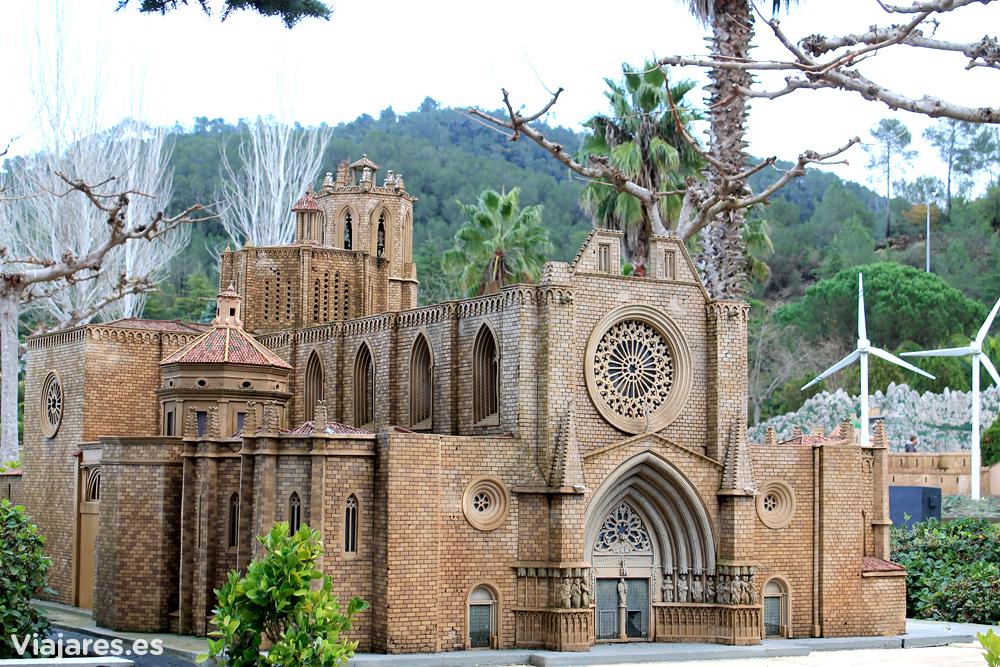 Maqueta de la Catedral de Tarragona