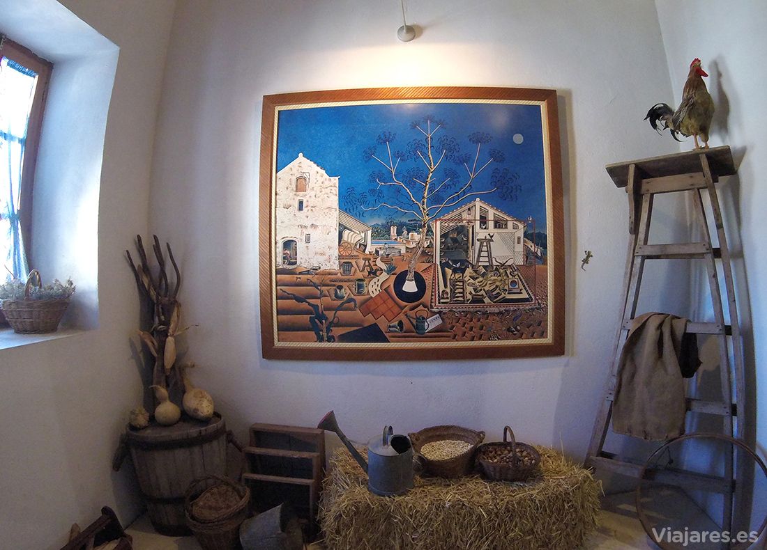 """Reproducción de """"La Masia"""" ambientada en el Centre Miró"""