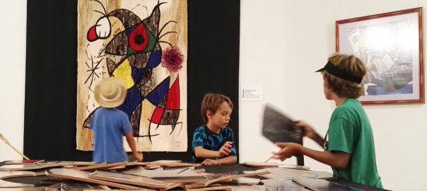Visita al Centre Miró de Mont-roig del Camp