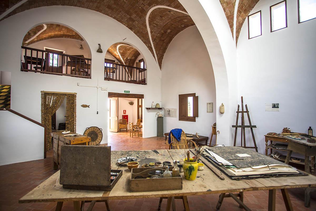 Taller de Joan Miró en Mas Miró, Mont-roig del Camp