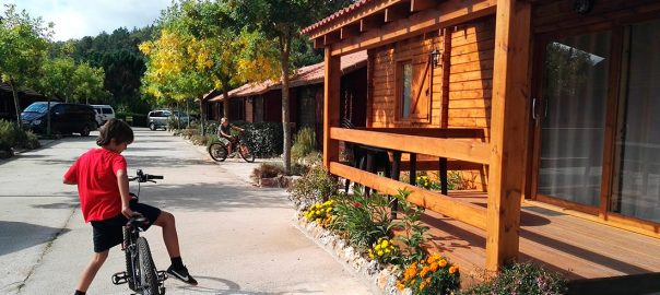 Bungalows en Camping Prades Park