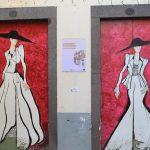 Muros y pùertas decoradas en el casco viejo de Funchal
