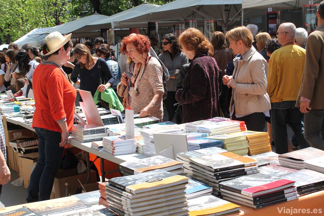 Día del Libro en la capital catalana