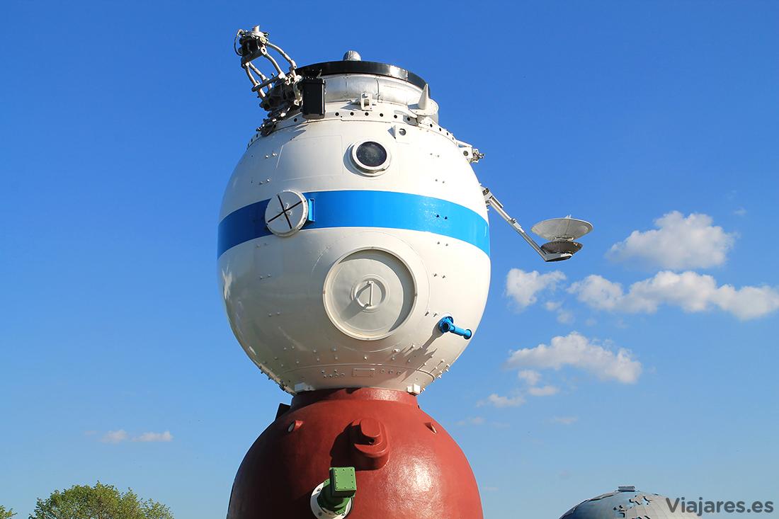 Módulo de la nave espacial Soyuz