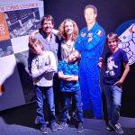 El astronauta Thomas Pesquet y la tripulación de la nave Viajares