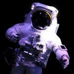 Traje espacial en la Cité de l'Espace de Toulouse