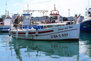 Barco en el puerto de L'Estartit