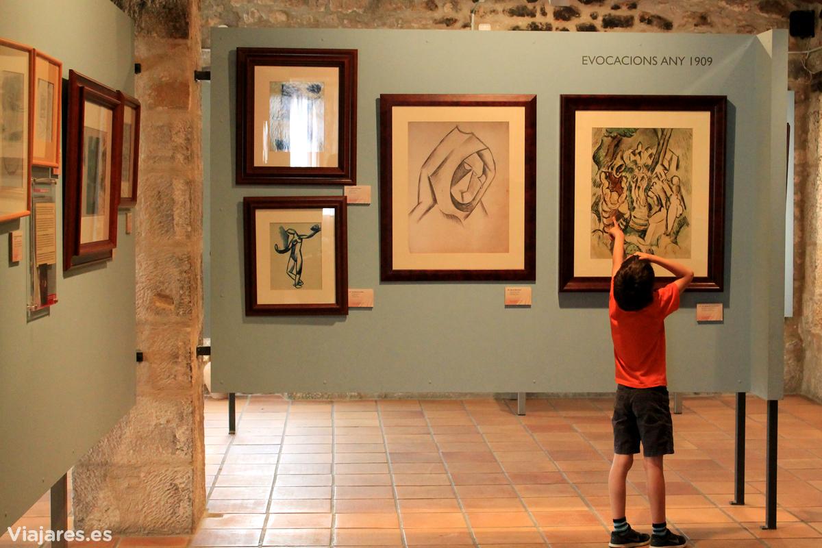 Obras de Picasso con un nexo con Horta de Sant Joan