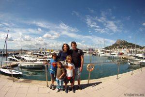 Disfrutando la Costa Brava con niños