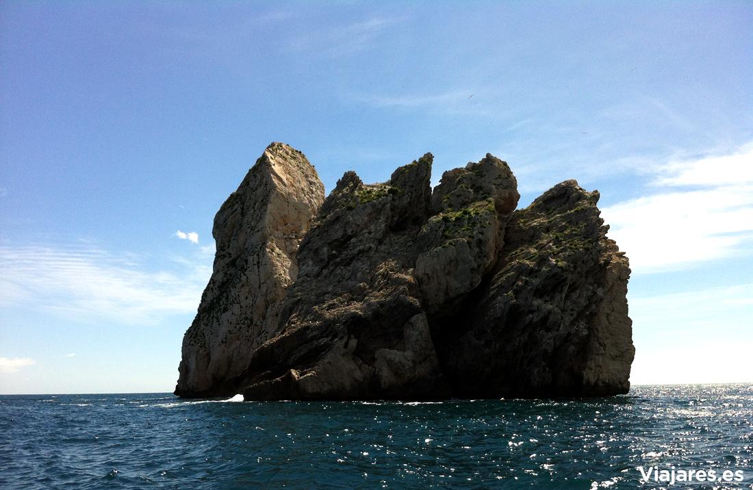 El Carall Bernat, uno de los islotes de les Illes Medes