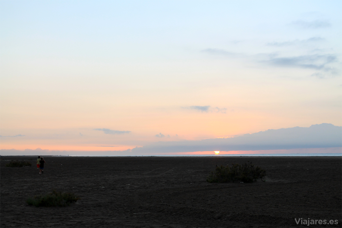 Amanecer en el Delta del Ebro