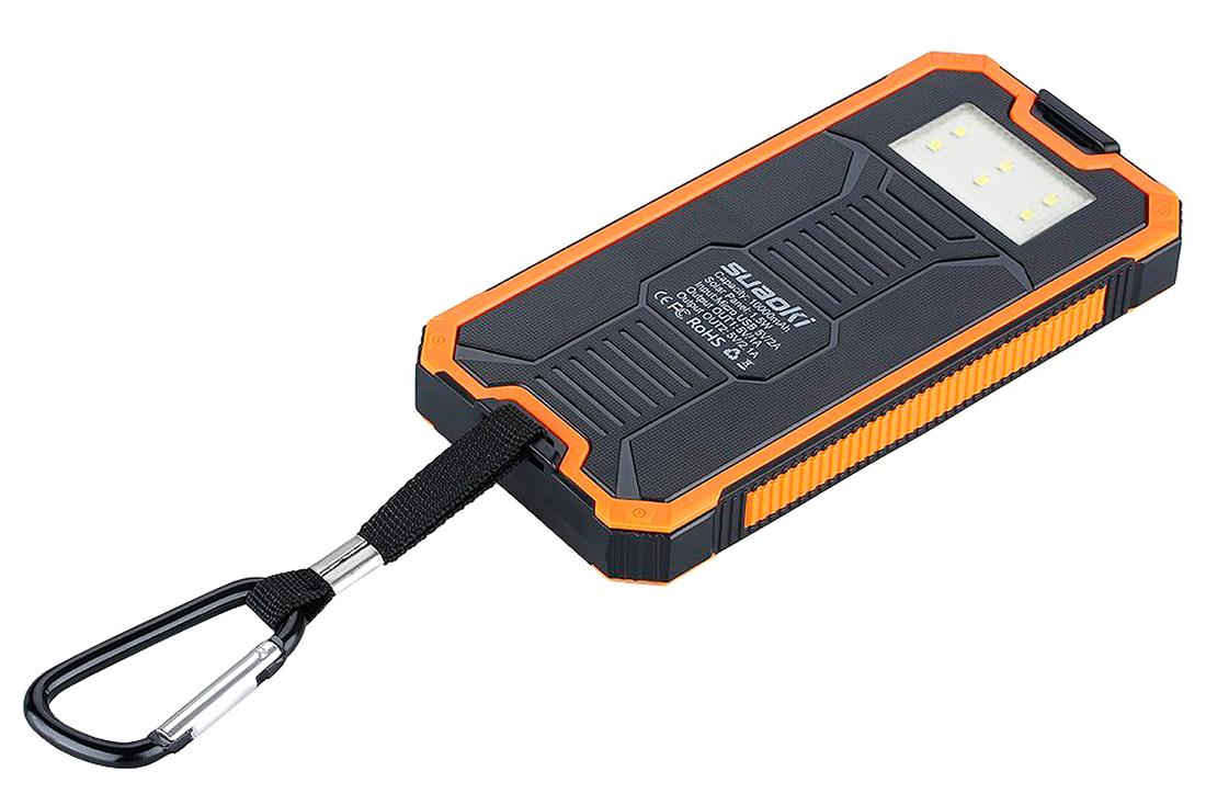 Cargador y batería solar