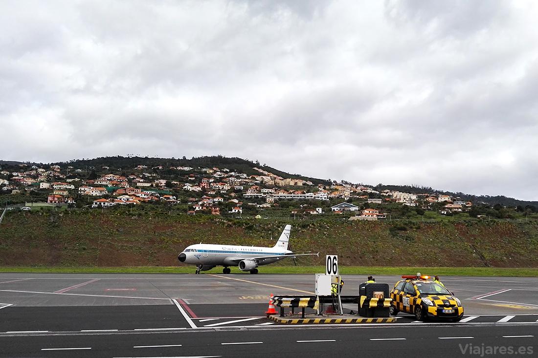 Pistas del Aeropuerto Internacional Cristiano Ronaldo de Madeira